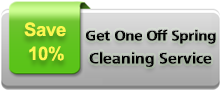 one off spring cleaning offer