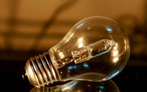 Do not dust hot light bulbs