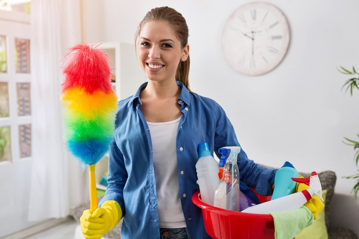 Here is how you can get others involved in house cleaning